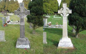 Burslem Memorial Gravestone Cleaning Repair