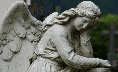 Cemetery Memorial Angel Burslem