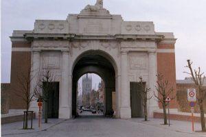 Burslem Memorials public memorials Menin Road Gates