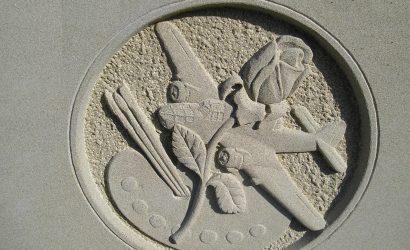 Bespoke memorials Burslem aeroplane