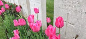 Burslem WW1 history Tonbridge Cemetery