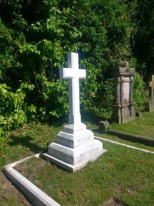 Ethel Newbold Le Lacheur memorial restoration