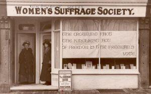 Women's Suffrage Society Tunbridge Wells Le Lacheur Newbold Memorial Restoration