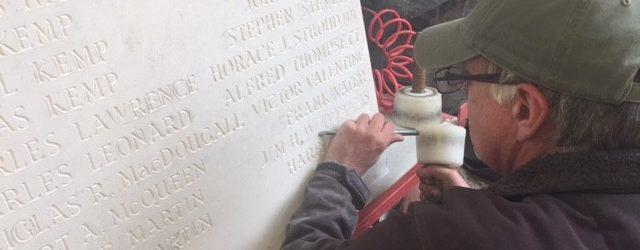 pembury war memorial plaque centenary ww1 burslem